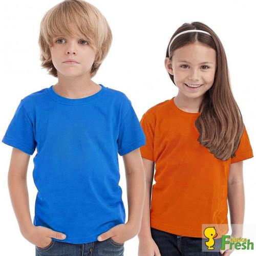 Футболка детская однотонная (Fabrica Fresh)