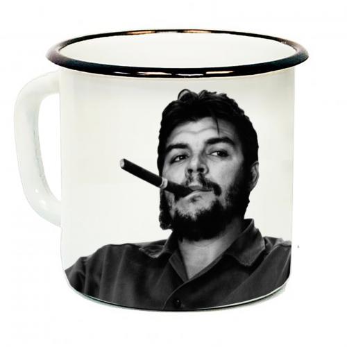 """Кружка металлическая """"Ernesto Che Guevara"""" (эмаль)"""