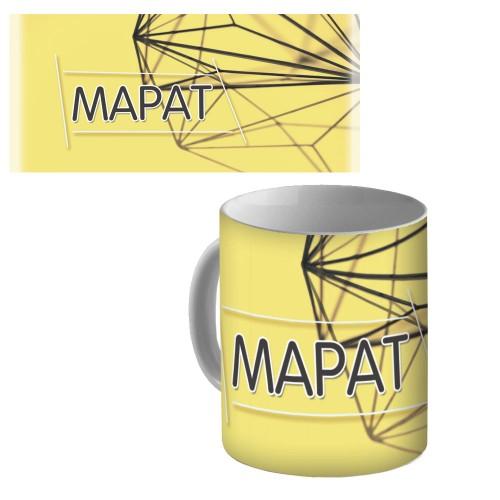 """Кружка керамическая с именем """"Марат"""""""