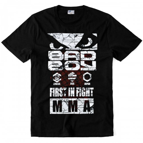 "Футболка ""Bad Boy First in Fight"""