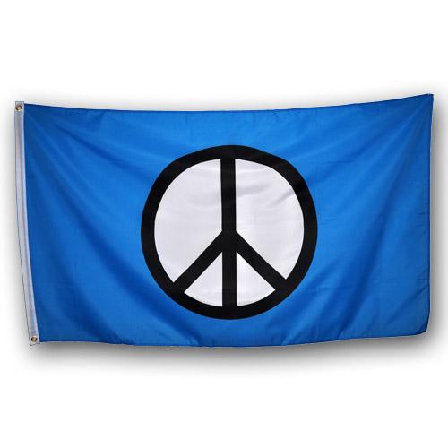 "Флаг пацифистов ""Пацифик""  (Мир - Peace)"