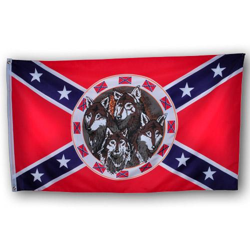 """Флаг """"Волки Конфедерации"""""""