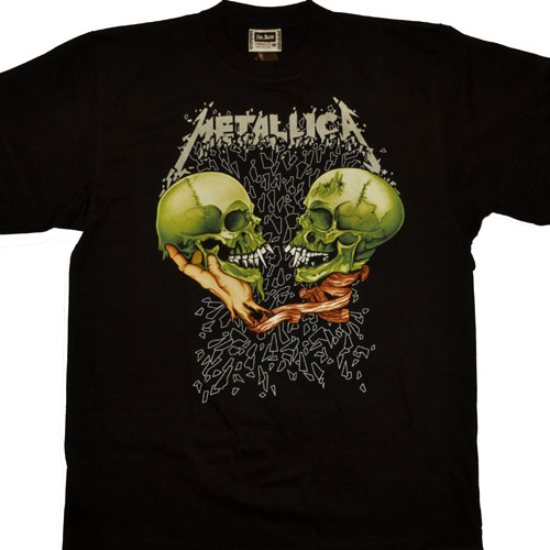 футболки Metallica, атрибутика Metallica, одежда Metallica.  5Metallica