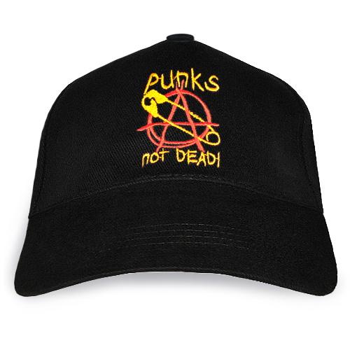 "Бейсболка ""Punks not dead"""