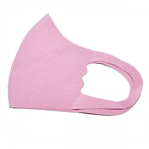 Маска на лицо из неопрена детская (розовый)