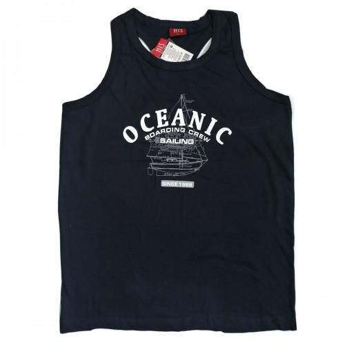 """Майка-борцовка мужская с принтом """"Oceanic"""""""