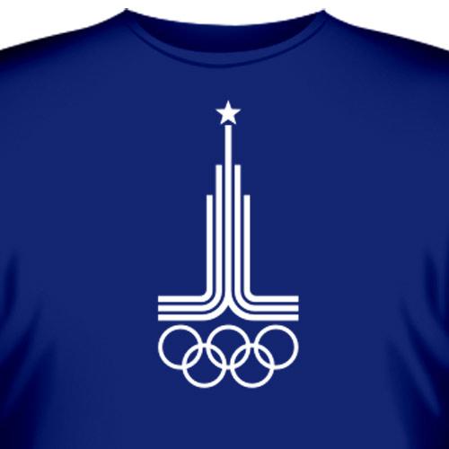 "Купить Футболка  ""Олимпиада -80 """