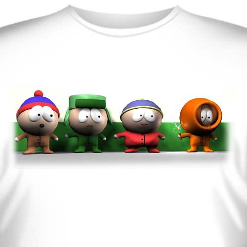 """Футболка  """"South Park (Южный Парк) -2 """" купить в интернет-магазине, цена."""