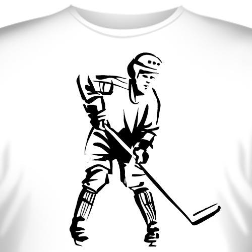 """Футболка  """"Хоккей -4 """" купить в интернет-магазине, цена."""