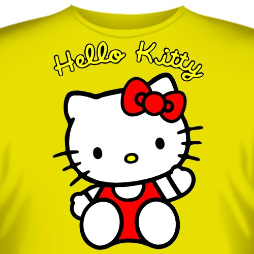 Футболки Hello kitty купить.