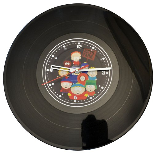 "Часы-пластинка настенные ""Южный Парк"" (1)"