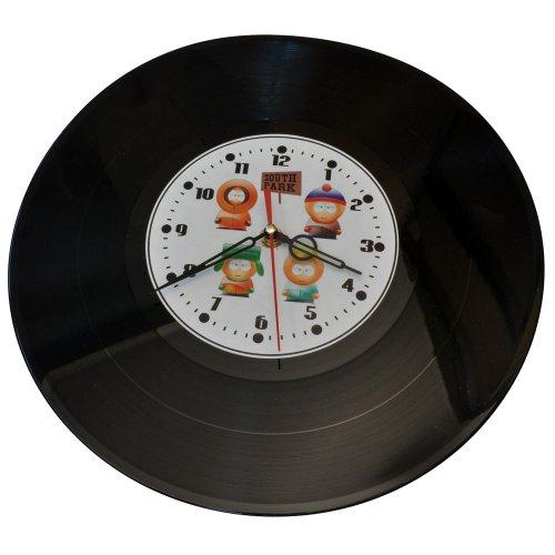 "Часы-пластинка настенные ""Южный Парк"" (2)"