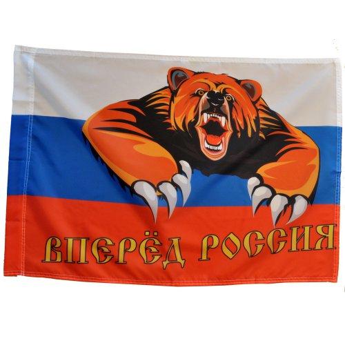 """Флаг """"Вперед Россия!"""""""