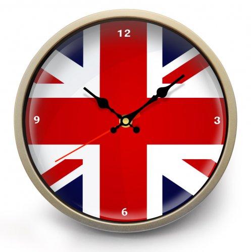 "Часы настенные ""Британский флаг"" (2)"