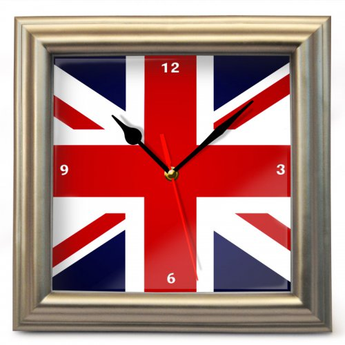 "Часы настенные ""Британский флаг"" (3)"