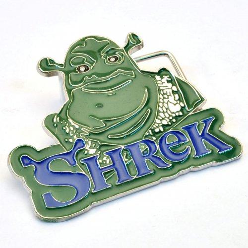 """Бляха сменная для ремня """"Shrek"""""""