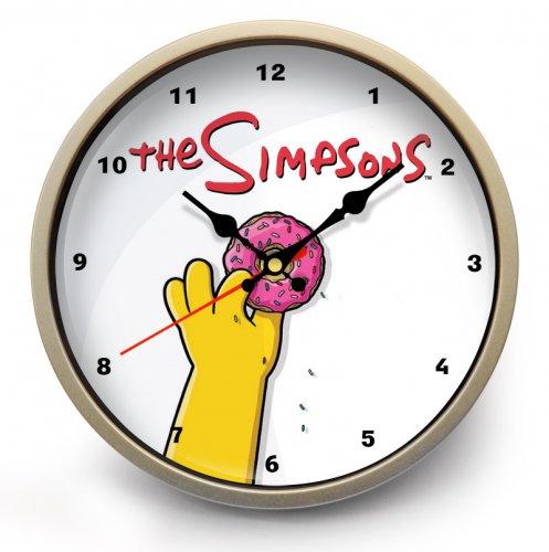 """Часы настенные """"Симпсоны"""" (1)"""