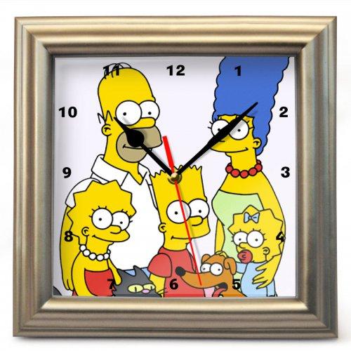 """Часы настенные """"Симпсоны"""" (2)"""