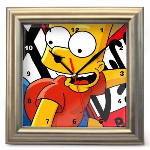 "Часы настенные ""Барт Симпсон"" (1)"