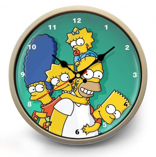 """Часы настенные """"Симпсоны"""" (3)"""