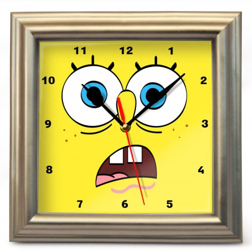 """Часы настенные """"Спанч Боб"""" (4)"""