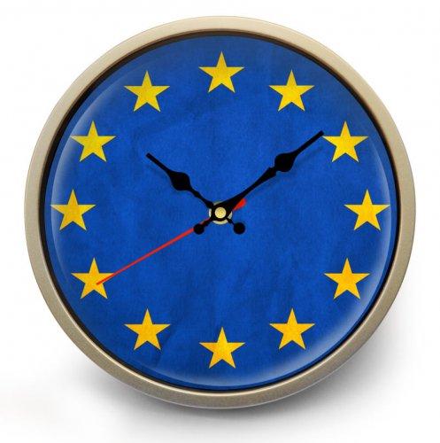 "Часы настенные ""Флаг Евросоюза"""