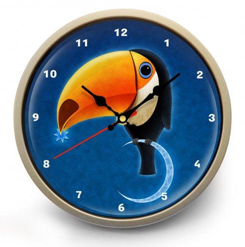 """Часы настенные """"Тукан"""""""