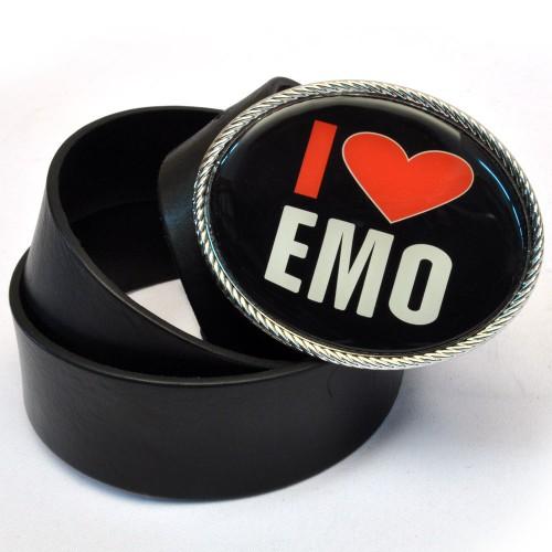 """Ремень Unisex """"I Love EMO"""""""