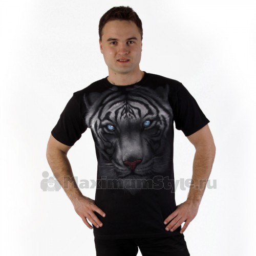 "Футболка ""Majestic White Tiger"" (США)"