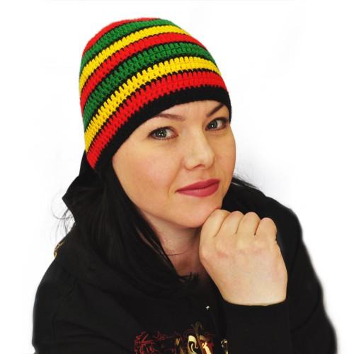 вязаные шапки бандана - Выкройки одежды для детей и взрослых.