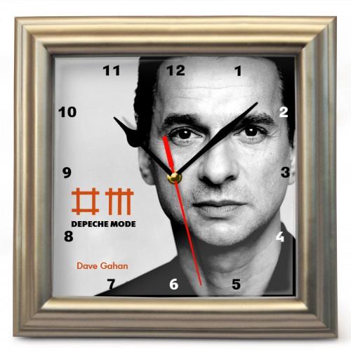 """Часы настенные """"Depeche Mode - Dave Gahan"""""""