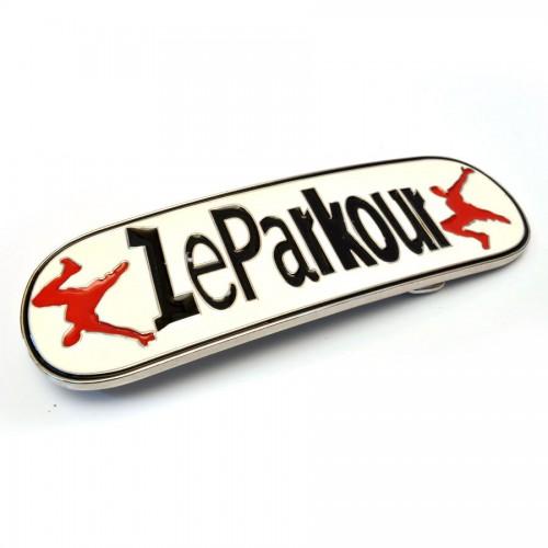 """Бляха сменная для ремня """"Le Parkour"""""""