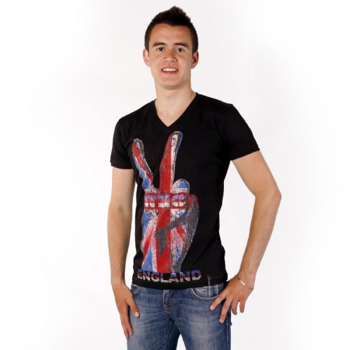 "Футболка MadMext ""England"" (black)"