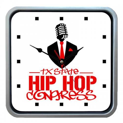 """Часы настенные """"Hip Hop Congress"""""""