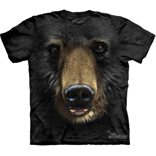 "Футболка ""Black Bear Face"" (США)"