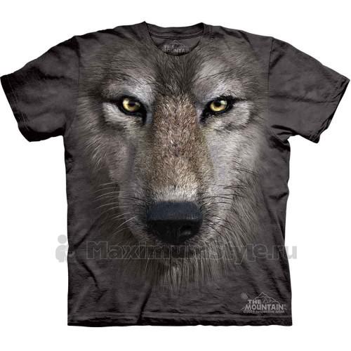 "Футболка ""Wolf Face"" (США)"