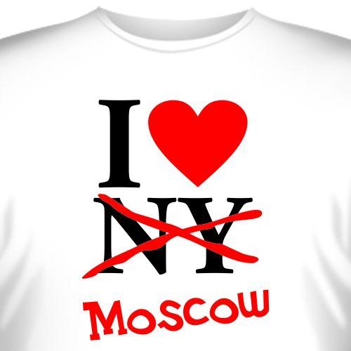 Футболка I love Moscow; I love Moscow; Футболки I love London; Футболки...