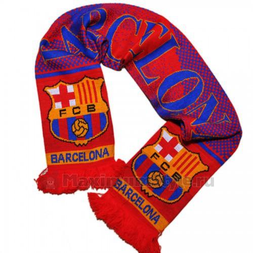 """Шарф  футбольный """"FC Barcelona"""" (2)"""