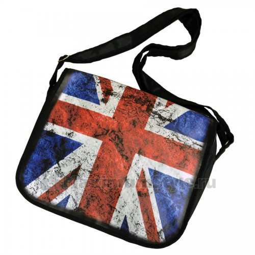 "Сумка с клапаном ""Британский флаг"""