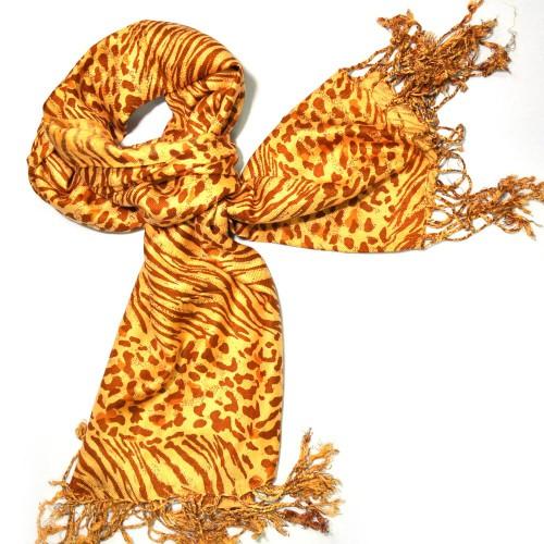 Шарф тигровый (Индия) 19