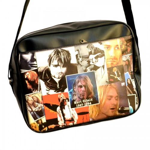 """Сумка горизонтальная """"Kurt Cobain"""""""