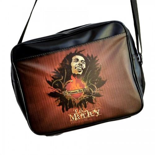 """Сумка горизонтальная """"Bob Marley"""" (No Woman, No Kry)"""