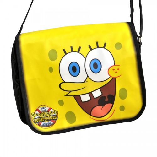 """Сумка с клапаном """"Sponge Bob"""""""