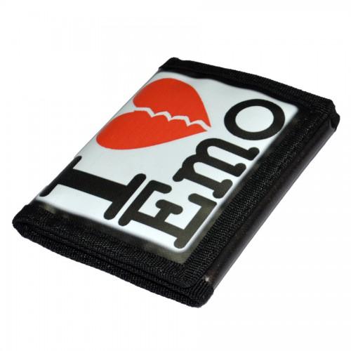 """Кошелек """"I love Emo"""""""