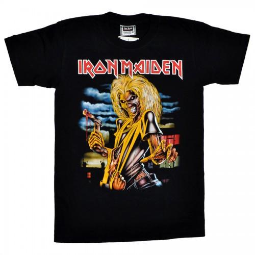 купить футболку iron maiden: одноцветные футболки ... майки с надписями...