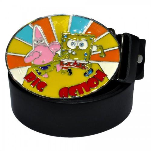 """Ремень с героями мультфильма """"Sponge Bob -4"""""""