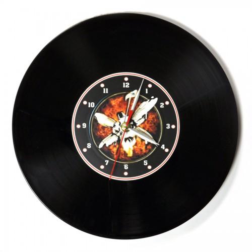 """Часы-пластинка настенные """"Linkin Park"""" (3)"""