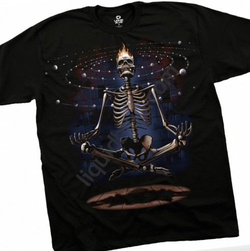 "Футболка ""Meditation Skull"" (США)"