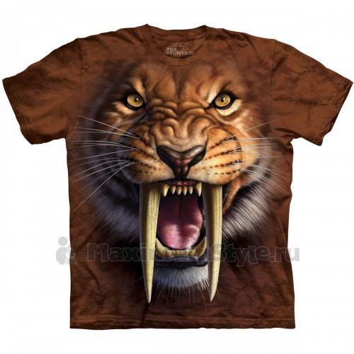 "Футболка ""Sabertooth Tiger"" (США)"