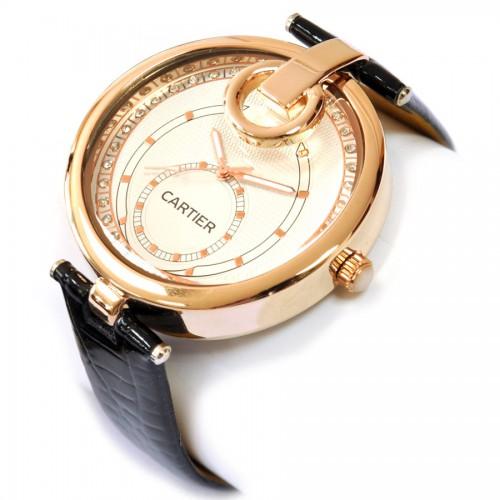 "Часы наручные женские ""Cartier"" (gold)"